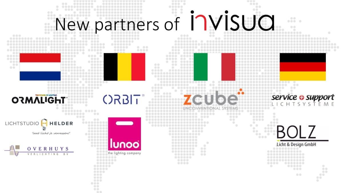 Invisua Lighting BV » New Partners