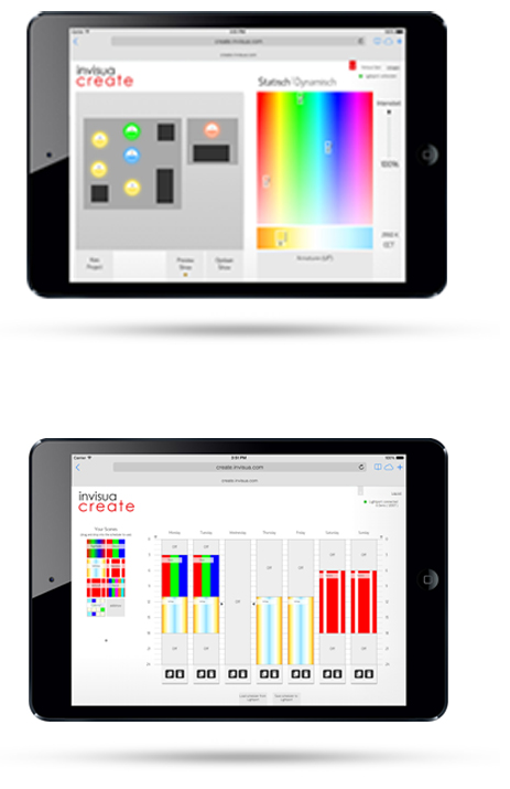 interface ipad create